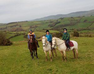 Pony trek at Tipperary Mountain Trekking Centre
